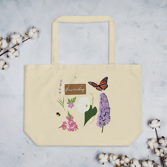 Backyard Flower Shop Tote Bag