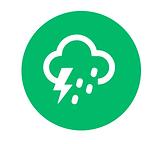Severe storm icon