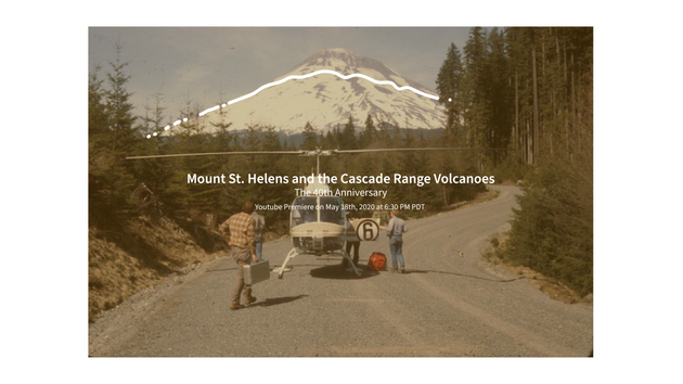 Mount St Helens Event Poster