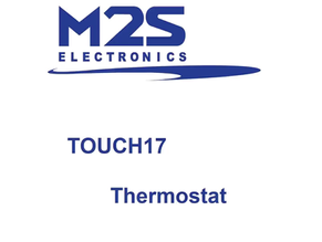 TOUCH17 - First in class                           7 '' Capacitive Color LCD Thermostat