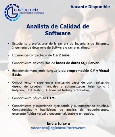 Analista de Calidad de Software  - copia