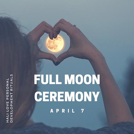 Hali Love Full Moon Ritual