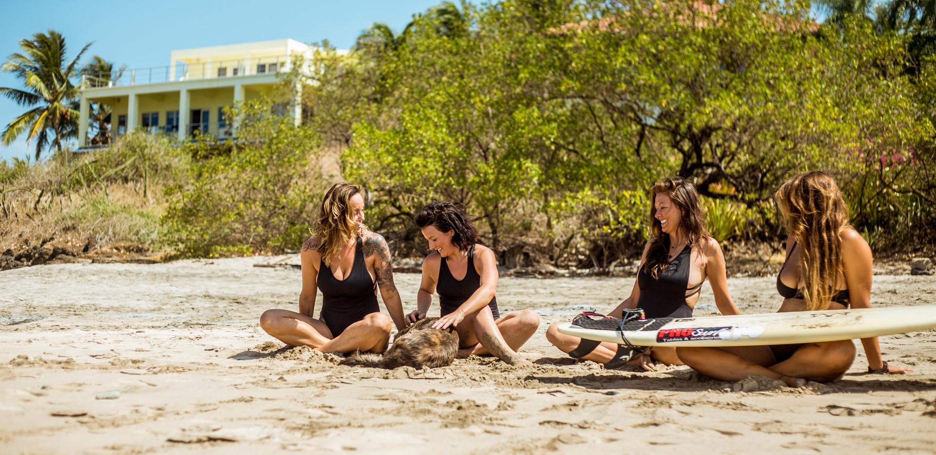 Hali Love Yoga Surf Retreats