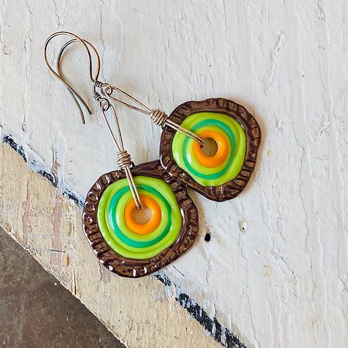Kaloop Earrings - Spring Energy