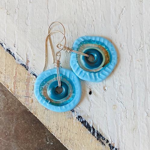 Kaloop Earrings - Blue Skies