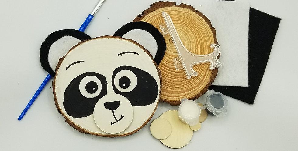 Panda Natural Wood Craft Kit