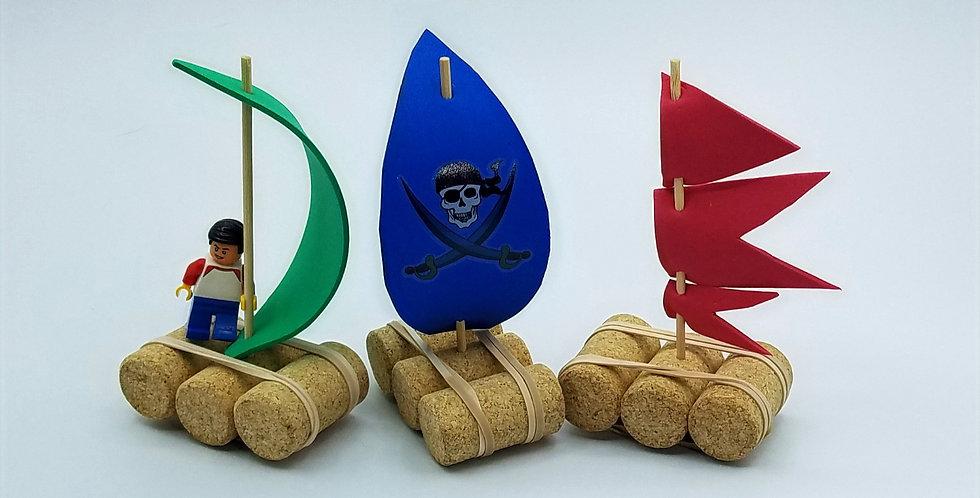 DIY Cork Boats