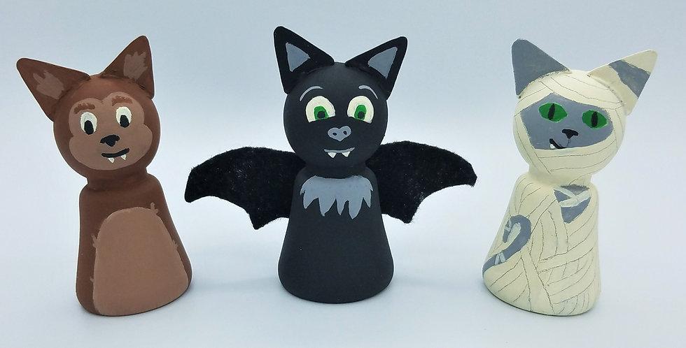 Halloween Peg Doll Craft Kit