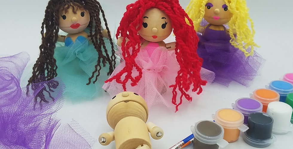 DIY Princess Dolls
