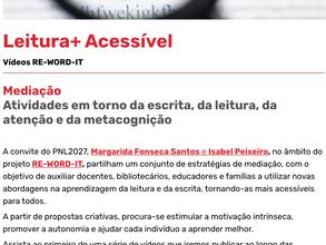 Leitura+ Acessível - Mediação