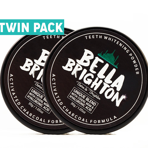 Bella Brighton Tooth Whitening Powder Twin Pack
