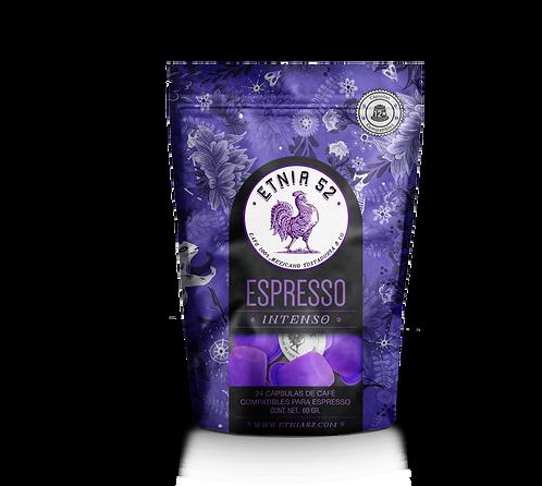 24 Cápsulas  Café  Espresso       (INTENSIDAD 10)