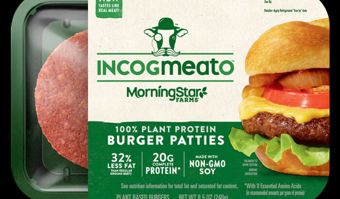 "Another Version of the ""Non-Meat"" Burger: IncogMEATo"