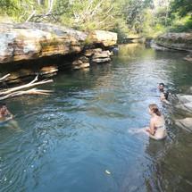 La Viuda Stream - Quebrada de la Viuda