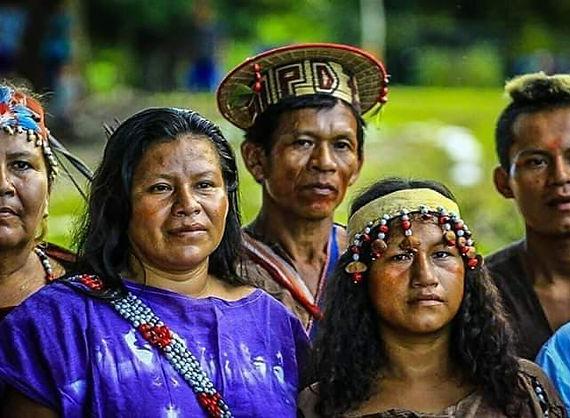 Ecotourism Peruvian Amazon - Indigenous community - Ashaninka ethnic group in Puerto Inca, Huanuco, Peru