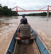 Ecotourism Peruvian Amazon - Boat trip on the Pachitea River in Puerto Inca, Huanuco, Peru