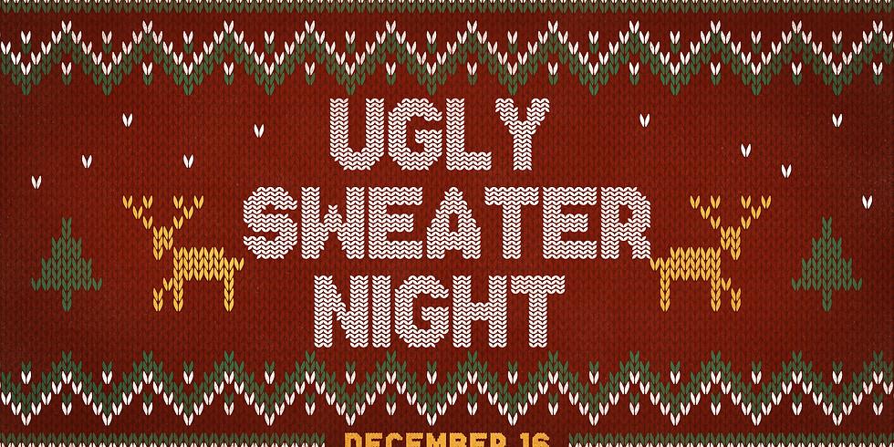 Christmas Sweater Night 7:00PM Dec. 16th