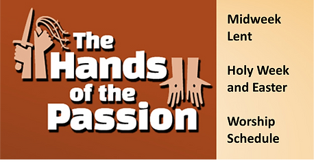The Hands of the Passion Home Page Butto