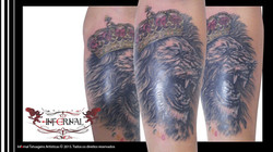 Leão e Coroa