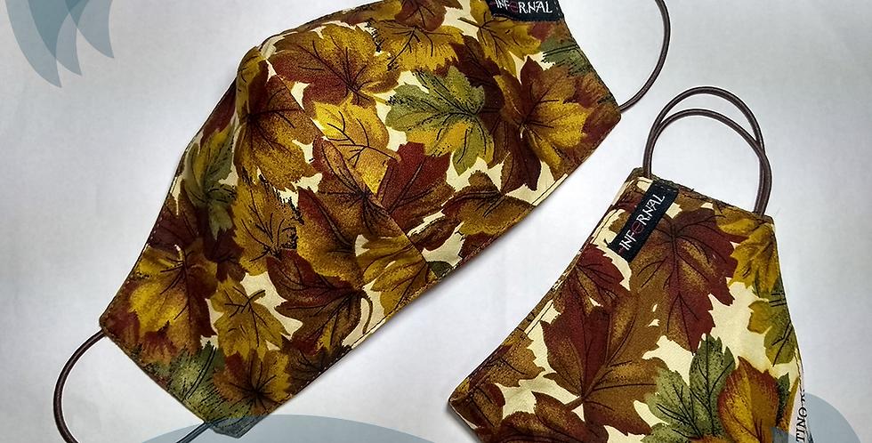 Máscara de proteção Individual - Infernal - Folhas de outono