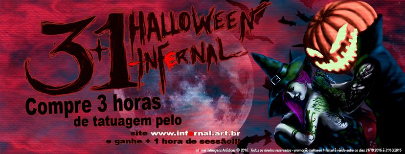 capa facebook hallowen infernal.psd