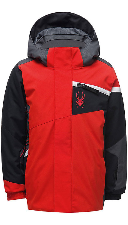 Toddler Boy's Spyder Challenger Jacket - Red (Volcano)