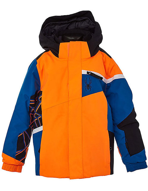 Toddler Boy's Spyder Challenger Jacket - Orange