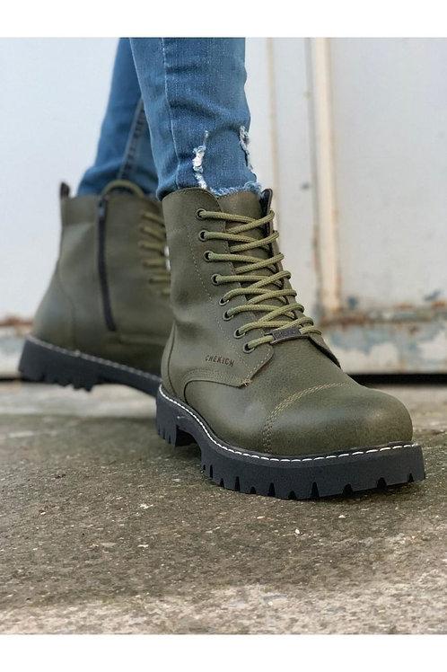 Chekich Green Combat Boot