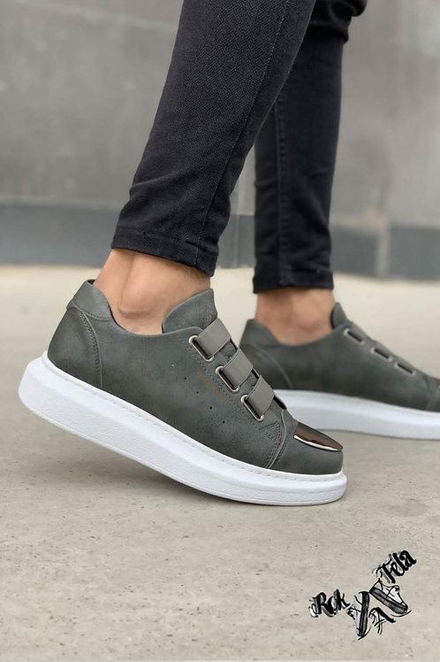 Chekich Metallic Grey