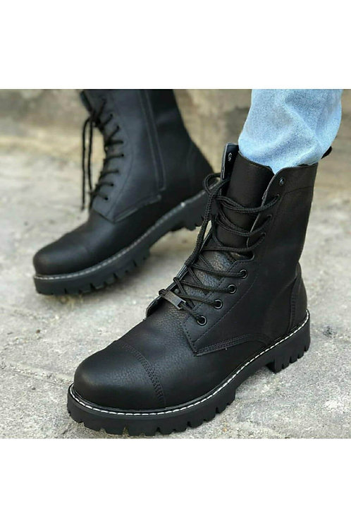 Chekich Black Combat Boot