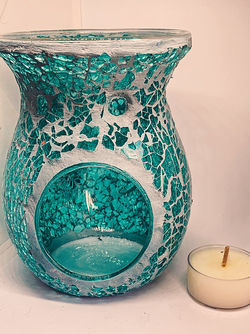 Luxury Turquoise Mosaic Oil and Wax Burner