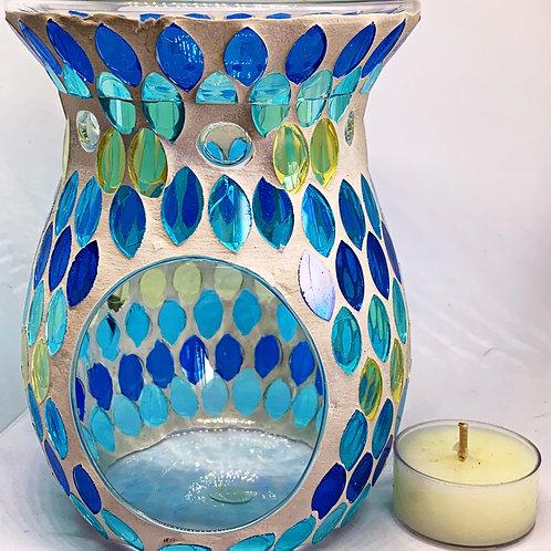 Luxury Mosaic Oil/Wax Burner Seascape Fantasy