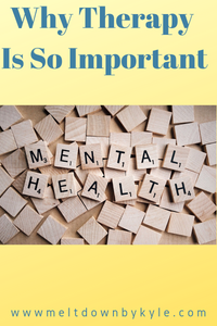 Therapy is crucial to Mental Health