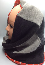 Snood lined with cotton