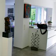 Wandgestaltung, Küche und Eingangsbereich