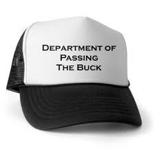 """""""Pass the Buck"""" Time at the Home Office & HMG"""