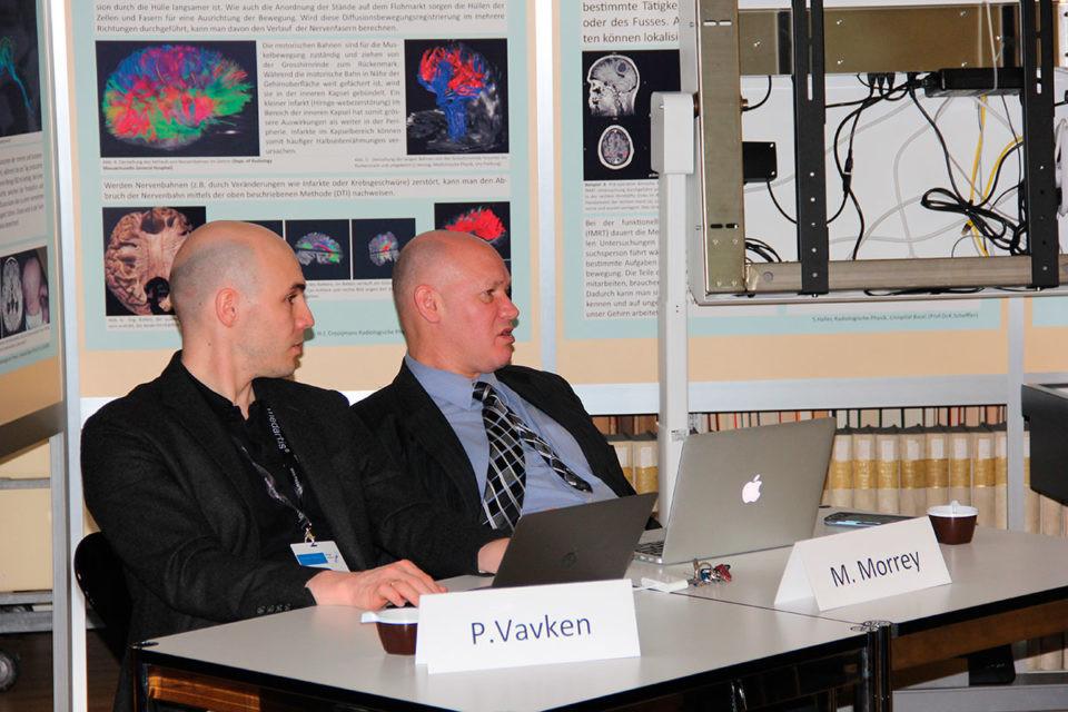 PD Dr Vavken, alphaclinic Zürich, mit Prof. Morrey, Mayo Clinic