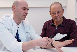Patientenbegleitung Ellbogen Op