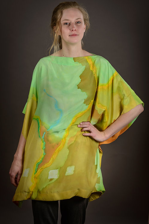 Earth and Sky Poncho