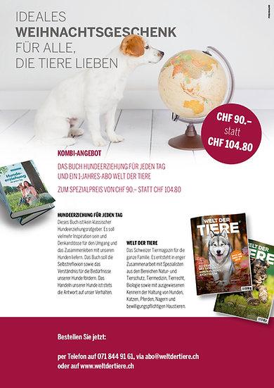 Kombi-Angebot: Buch & 1-Jahres-Abo Welt der Tiere