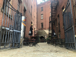 Penn Brewery outdoor seating