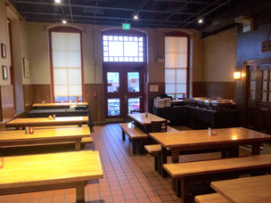 Main Dining Room tables