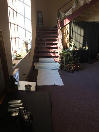Eisenhalle stairs