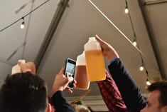 jugs of beer