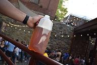 Beer in half gallon jug