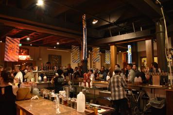 Penn Brewery room and bar