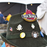Hat with Penn Brewery pins