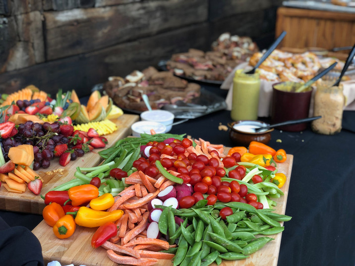 Fruit and Vegetable Platters