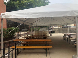 The Terrace Tent with Tables