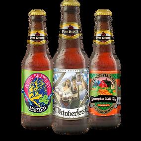 Seasonal Penn Brewery Beers